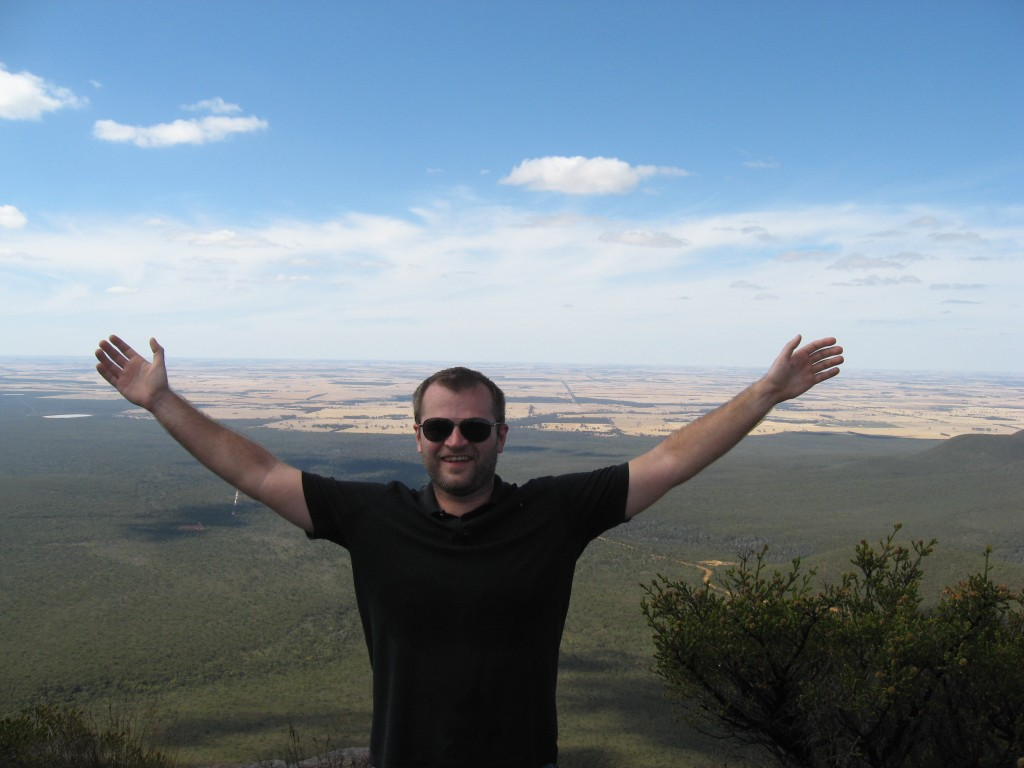 Me at the Stirling Range in Western Australia